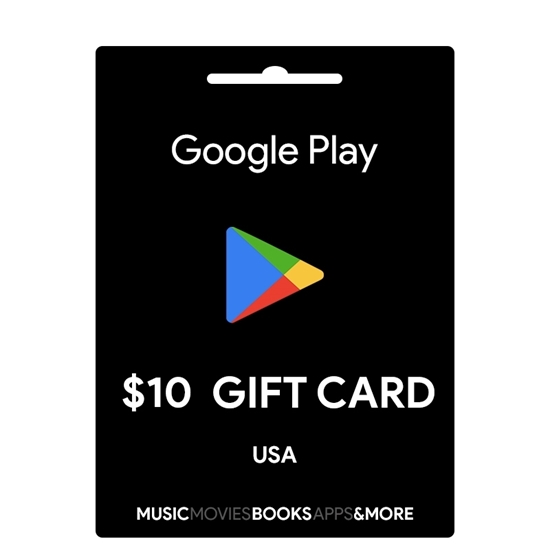 Google Play Gift Card Buy or Recharge Online USA 10$ - Google Play Codes @OfficialReseller.com in India