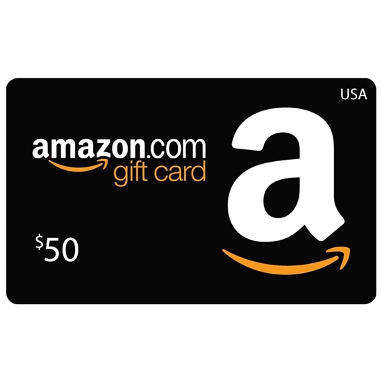 Amazon Gift Card Buy or Recharge Online USA 50$ - Amazon Gift Card Codes @OfficialReseller.com in India