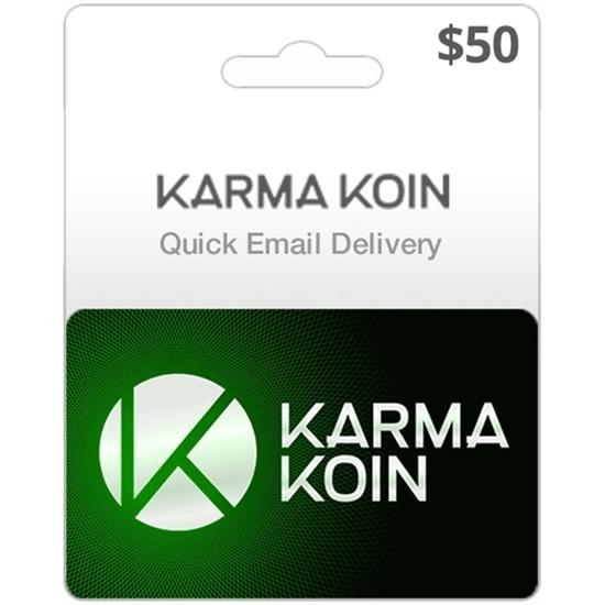 $50 Karma Koin Game Card