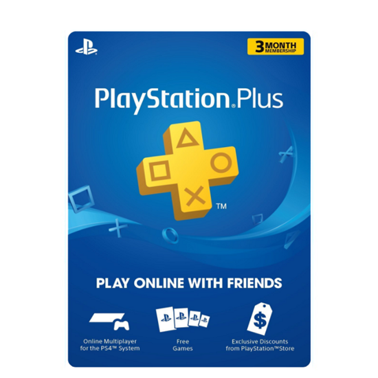 Buy PSN Plus Gift Card - USD 3 Months (India): OfficialReseller.com: Gift Cards pay in Indian Rupees get 3 months worth of PSN plus membership gift card