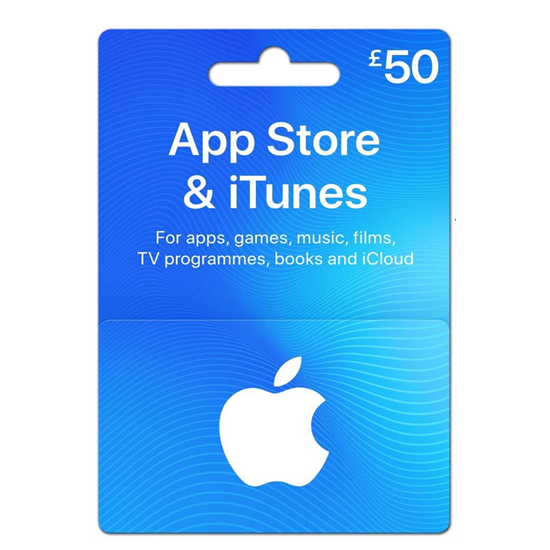 Buy iTunes Gift Card - UK 50£ (India): OfficialReseller.com: Gift Cards pay in Indian Rupees get UK 50£ worth of iTunes gift card