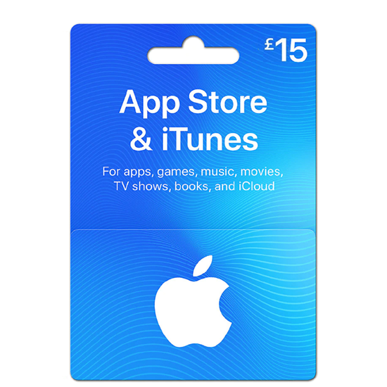 Buy iTunes Gift Card - UK 15£ (India): OfficialReseller.com: Gift Cards pay in Indian Rupees get UK 15£ worth of iTunes gift card